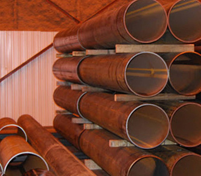 corten astm steel pipe manufacturer in india