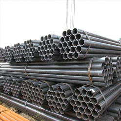 ERW black steel pipe manufacturer exporter india